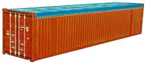 40-футовый контейнер